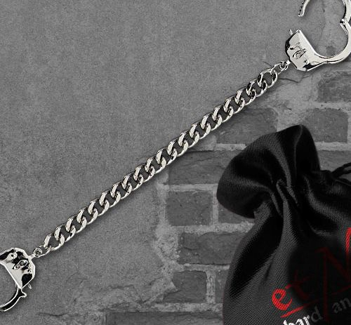 """Armband """"chained and locked"""""""