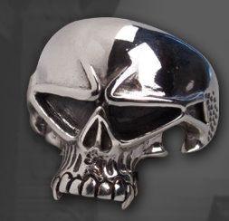 "Silberring ""Space Skull"""