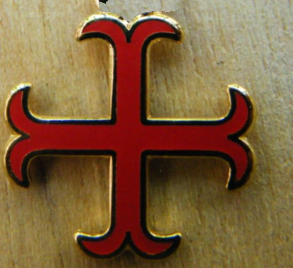 Katharer Cross Pin